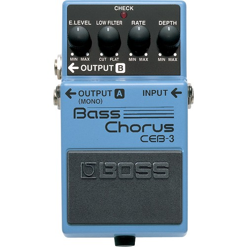 BOSS Bass Effect Bass Chorus [CEB-3] - Bass Stompbox Effect